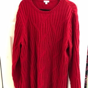 J Jill Chenille sweater XL